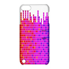 Square Spectrum Abstract Apple Ipod Touch 5 Hardshell Case With Stand