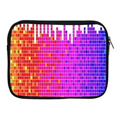 Square Spectrum Abstract Apple Ipad 2/3/4 Zipper Cases by Simbadda