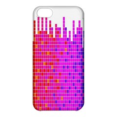 Square Spectrum Abstract Apple Iphone 5c Hardshell Case by Simbadda