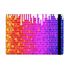 Square Spectrum Abstract Ipad Mini 2 Flip Cases by Simbadda