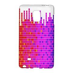 Square Spectrum Abstract Galaxy Note Edge by Simbadda