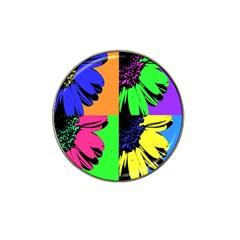 Flower Pop Sunflower Hat Clip Ball Marker (10 Pack) by Alisyart