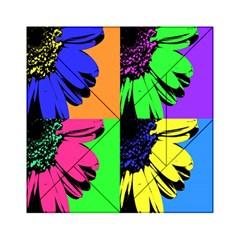 Flower Pop Sunflower Acrylic Tangram Puzzle (6  X 6 ) by Alisyart