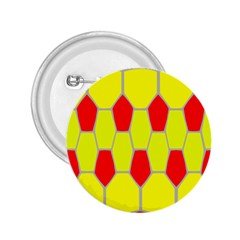 Football Blender Image Map Red Yellow Sport 2 25  Buttons by Alisyart