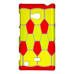 Football Blender Image Map Red Yellow Sport Nokia Lumia 720 by Alisyart