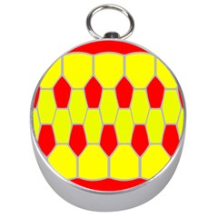Football Blender Image Map Red Yellow Sport Silver Compasses by Alisyart