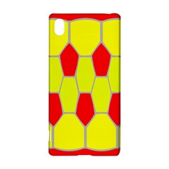 Football Blender Image Map Red Yellow Sport Sony Xperia Z3+ by Alisyart
