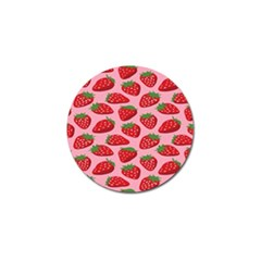 Fruit Strawbery Red Sweet Fres Golf Ball Marker (4 Pack) by Alisyart