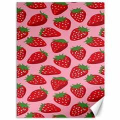 Fruit Strawbery Red Sweet Fres Canvas 36  X 48   by Alisyart