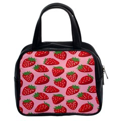 Fruit Strawbery Red Sweet Fres Classic Handbags (2 Sides) by Alisyart