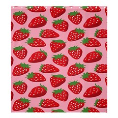 Fruit Strawbery Red Sweet Fres Shower Curtain 66  X 72  (large)  by Alisyart