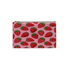 Fruit Strawbery Red Sweet Fres Cosmetic Bag (small)  by Alisyart