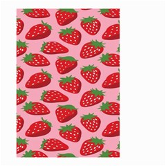 Fruit Strawbery Red Sweet Fres Small Garden Flag (two Sides) by Alisyart