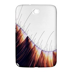 Abstract Lines Samsung Galaxy Note 8 0 N5100 Hardshell Case  by Simbadda