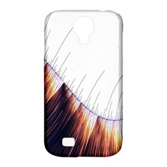Abstract Lines Samsung Galaxy S4 Classic Hardshell Case (pc+silicone) by Simbadda