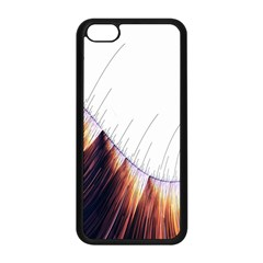 Abstract Lines Apple Iphone 5c Seamless Case (black) by Simbadda