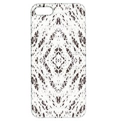 Pattern Monochrome Terrazzo Apple Iphone 5 Hardshell Case With Stand by Simbadda