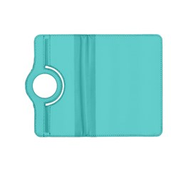 Grey Wave Water Waves Blue White Kindle Fire Hd (2013) Flip 360 Case by Alisyart