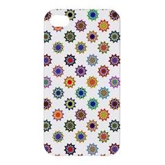 Flowers Color Artwork Vintage Modern Star Lotus Sunflower Floral Rainbow Apple Iphone 4/4s Premium Hardshell Case by Alisyart