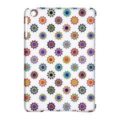 Flowers Color Artwork Vintage Modern Star Lotus Sunflower Floral Rainbow Apple Ipad Mini Hardshell Case (compatible With Smart Cover)