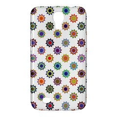 Flowers Color Artwork Vintage Modern Star Lotus Sunflower Floral Rainbow Samsung Galaxy Mega 6 3  I9200 Hardshell Case by Alisyart