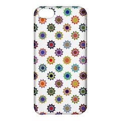 Flowers Color Artwork Vintage Modern Star Lotus Sunflower Floral Rainbow Apple Iphone 5c Hardshell Case by Alisyart