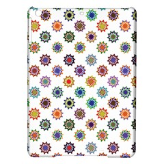 Flowers Color Artwork Vintage Modern Star Lotus Sunflower Floral Rainbow Ipad Air Hardshell Cases by Alisyart