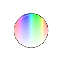 Layer Light Rays Rainbow Pink Purple Green Blue Hat Clip Ball Marker (10 Pack) by Alisyart