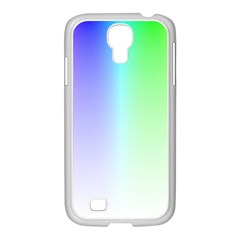 Layer Light Rays Rainbow Pink Purple Green Blue Samsung Galaxy S4 I9500/ I9505 Case (white) by Alisyart