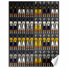 Football Uniforms Team Clup Sport Canvas 18  X 24   by Alisyart