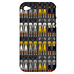 Football Uniforms Team Clup Sport Apple Iphone 4/4s Hardshell Case (pc+silicone) by Alisyart