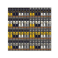 Football Uniforms Team Clup Sport Small Satin Scarf (square) by Alisyart