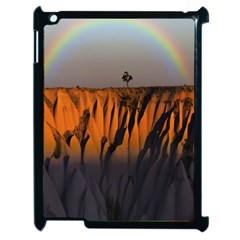 Rainbows Landscape Nature Apple Ipad 2 Case (black) by Simbadda