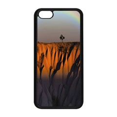 Rainbows Landscape Nature Apple Iphone 5c Seamless Case (black) by Simbadda