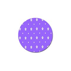Light Purple Flowers Background Images Golf Ball Marker (4 Pack) by Alisyart