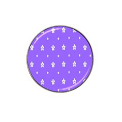 Light Purple Flowers Background Images Hat Clip Ball Marker (4 Pack) by Alisyart