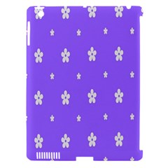 Light Purple Flowers Background Images Apple Ipad 3/4 Hardshell Case (compatible With Smart Cover) by Alisyart