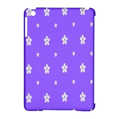 Light Purple Flowers Background Images Apple Ipad Mini Hardshell Case (compatible With Smart Cover) by Alisyart