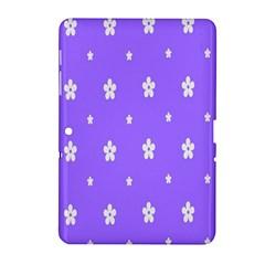 Light Purple Flowers Background Images Samsung Galaxy Tab 2 (10 1 ) P5100 Hardshell Case  by Alisyart
