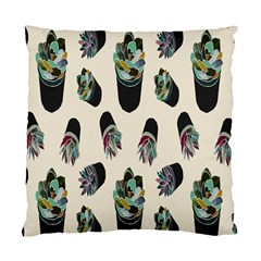 Succulent Plants Pattern Lights Standard Cushion Case (two Sides) by Simbadda