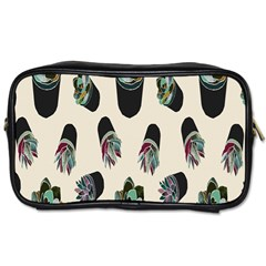 Succulent Plants Pattern Lights Toiletries Bags 2 Side by Simbadda