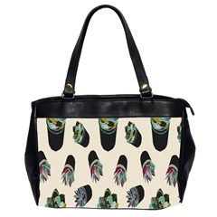 Succulent Plants Pattern Lights Office Handbags (2 Sides)  by Simbadda