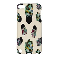 Succulent Plants Pattern Lights Apple Ipod Touch 5 Hardshell Case by Simbadda