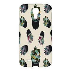 Succulent Plants Pattern Lights Samsung Galaxy S4 I9500/i9505 Hardshell Case by Simbadda