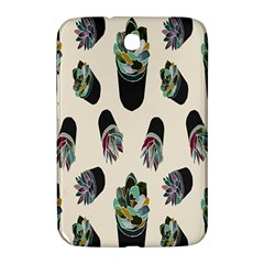 Succulent Plants Pattern Lights Samsung Galaxy Note 8 0 N5100 Hardshell Case  by Simbadda
