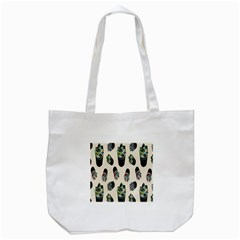 Succulent Plants Pattern Lights Tote Bag (white) by Simbadda