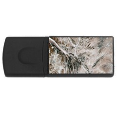 Earth Landscape Aerial View Nature USB Flash Drive Rectangular (2 GB) by Simbadda