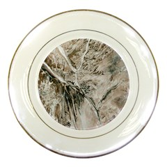 Earth Landscape Aerial View Nature Porcelain Plates by Simbadda