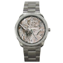 Earth Landscape Aerial View Nature Sport Metal Watch by Simbadda