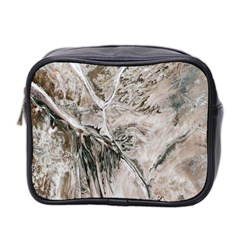 Earth Landscape Aerial View Nature Mini Toiletries Bag 2 Side by Simbadda